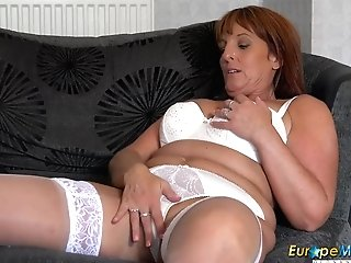 Europemature Hot Matures Lady Solo Striptease