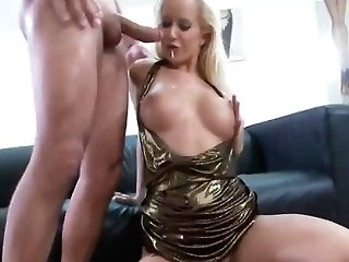 Euro Blonde Will Only Take Ass Fucking