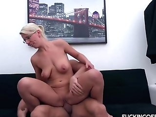 Luci Angel Is An Insatiable, Blonde Assistant Who Likes To Have Casual Hump At Work