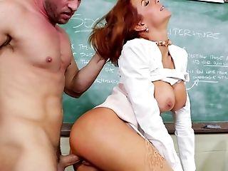 Veronica Shows Preston How To Teach Sex