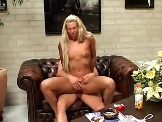 Crazy Homemade Movie With Skinny, Blonde Scenes