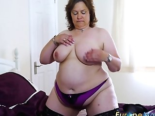 Europemature Big-boobed Ladies Sexy Showoff Compilation