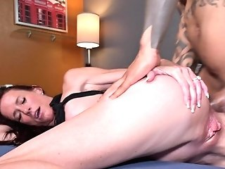 Cheating Wifey Does Ass Fucking With A Big Black Cock