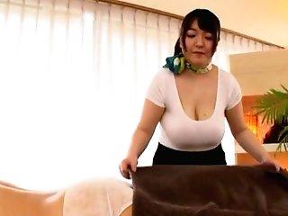 Buxom Japanese Matures Mochida Yukari Likes Providing A Tugjob