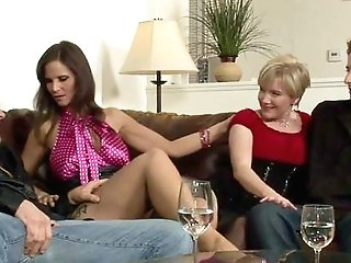 Needy Act For A Pair Of Ambidextrous-sexual Paramours And A Matures