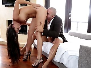 Amazing Nikki Daniels Sliding On My Cock