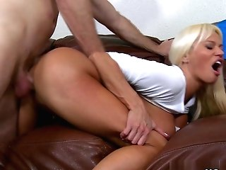 Incredible Adult Movie Star In Fabulous Facial Cumshot, Big Tits Adult Clip
