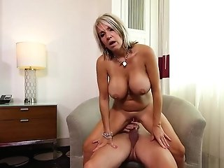 Meaty Tits Cougar Gets Anal Invasion Fuck And Facial Cumshot