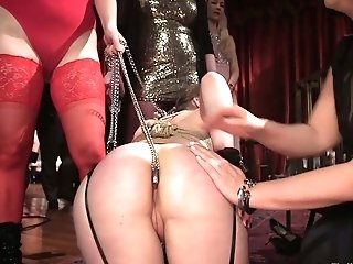 Tied Up Whore Aiden Starr Takes Part In Crazy Group Fucky-fucky In Public