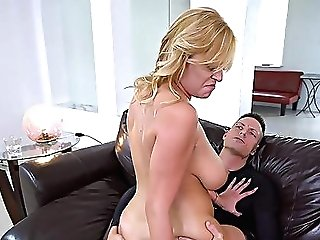 Tasty Inches For The Huge-titted Mom In Home Xxx Romance