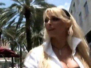 Crazy Pornographic Star In Amazing Big Tits, Blonde Porno Clip