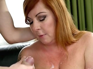 Youthful Student Fucks Supah Juggy Professor Tammy Jean And Cums On Her Thick Milk Cans