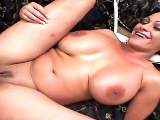 Marvelous Breasty Latino Experienced Female Ava Lauren Is Getting Cum-shot