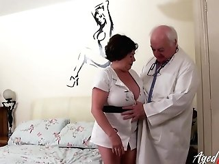 Hard-core Matures Sexual Intercourse With Physician And Nurse And Oral Job