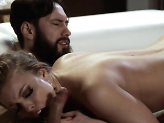 Juggy Honey With Fit Figure Britney Amber Is Making Love With Bearded Boy