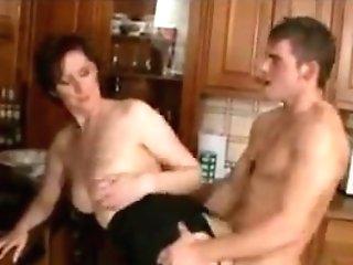Brit Mummy Gets It In The Kitchen