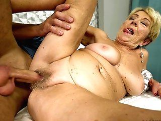 Elderly Lady Malya Is In Need Of A Fellow's Erected Dong