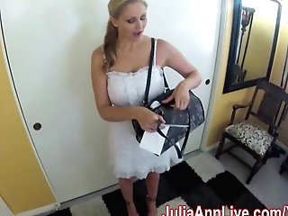 Nurse Julia Ann Visits For An Oral Check-up!