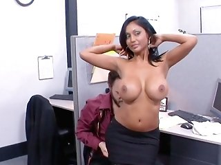 Fantastic Indian Office Nymphomaniac Priya Anjali Rai Rails Supah Lengthy Meatpipe On Top