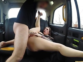 Hopping On A Driver's Penis Is The Fave Hump Sport Of Ava Austen