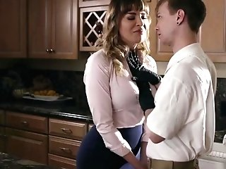 Hot Cougar Dana Gets Banged Hard By Her Stepsons