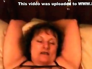 Buxomy Cougar In Couch Loves Hard Slit Fuck