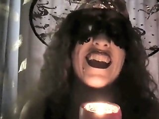 Halloween Scary Witch Joi 60fps, You Will Spunk In Horror!  Hotwifevenus.