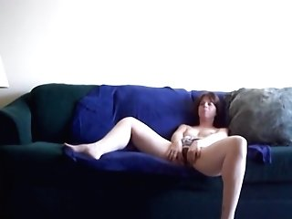 Matures Dark Haired With Smallish Tits Is Very Nosey About Making Her First-ever Porno.