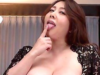 Premium Nude Solo By Big-boobed Kazama Yumi