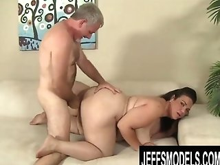 Jeffs Models - Fat Latina Cougar Angelina Doggystyle Compilation Part 1
