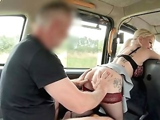 Matures With Big Donk And Insane Tits, Smashing Point Of View In The Cab