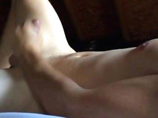 Masturbating My Thick Pipe Until I Glob Spunk All Over Myself