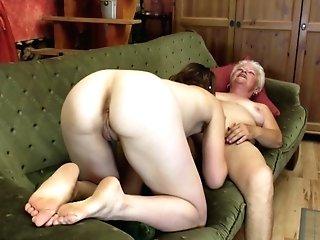 Two Lusty Lezzie Beotches Love Slurping Their Orgasmic Twats