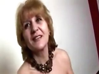Horny Old Housewife Luvs Squeezing