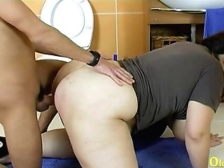 Oldnanny Big-boobed Matures Czech Hard-core Fucking