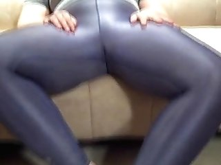Foot Worship And Spandex Taunt