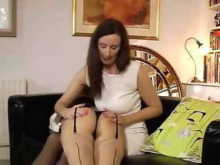 Matures Vixen Pleases Hot Youthful Bitch During Mutual Tonguing