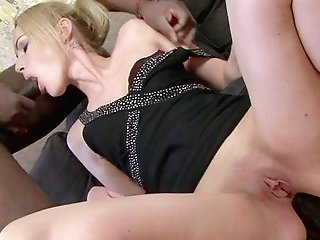 Big Black Cock For The Fresh Teenager In Conclude Hard-core Tryout