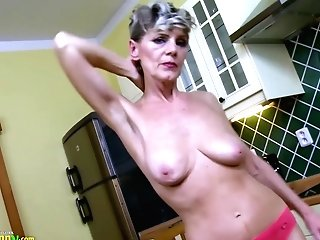 Oldnanny Euro Matures Solo Have Fun Closeps And Inviting Poses And Playing