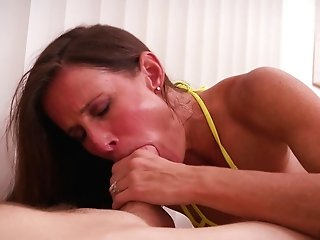 Sofie Marie Is A Skillful Cougar Who Loves To Suck A Pulsating Dong