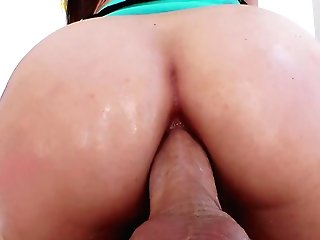 Dark Haired Beauty Goes Total Mode In Ass-fuck Extreme