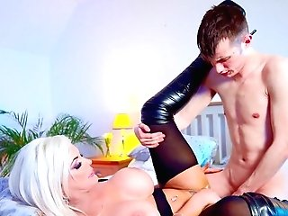 Mommy Explosions The Youthful Boy's Boner Deeper Than Ever Expected
