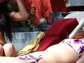 Best Superstars Ashlyn Molloy And Nikki Daniels In Exotic Cougar, Black-haired Xxx Scene