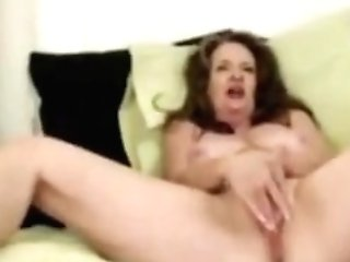 Old Mom Gets A Noisy Squirting Orgasm