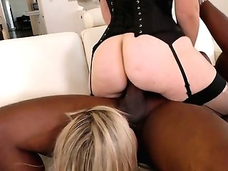 Floozy Gia Paloma And Her Gf Fuck Black Dude In The Presence Of Hotwife Spouse