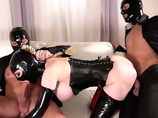 Crazy Obsession In Spandex With A Huge-titted Cougar On Fire