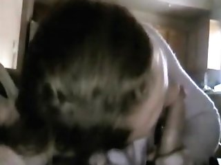 So Pretty Dark Haired Mummy Wifey Suck Pecker When Parents Are Out Of Building,!damn!