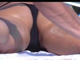 Horny Bikini Girls Beach Voyeur Spycamhd Video