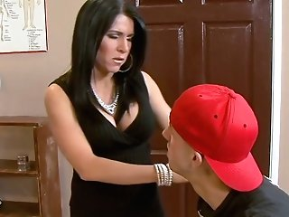 Lustful Educator Kendra Secrets Is Fucking One Of Her Fave Students
