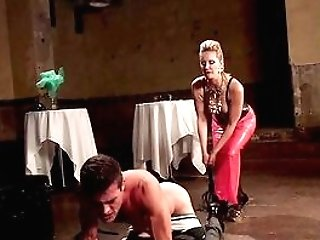 Mistress Fucks Her Male Sub In Rough Manners